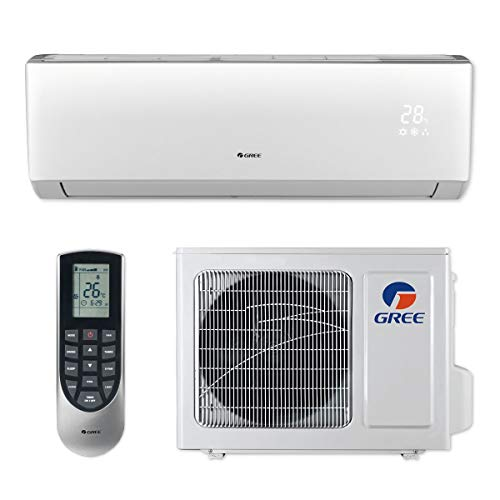Gree VIR36HP230V1B - 36,000 BTU 18 SEER Vireo+ Wall Mount Ductless Mini Split Air Conditioner Heat...