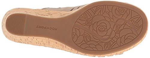 Fisherman Briah Taupe Rockport Sandal Wedge Women's Simply O1xPqE