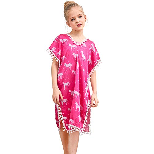 Play Tailor Unicorn Cover Up for Girls Swimsuit