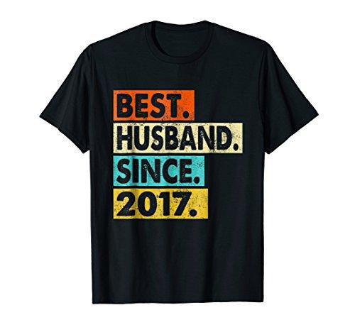 1st Wedding Anniversary Gifts - Husband Since 2017 Shirt