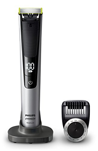Edge Trimmer Electric - Philips Norelco Oneblade QP6520/70 Pro Hybrid Electric Trimmer and Shaver
