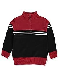 Faze 1 Little Boys' Zip Turtleneck Sweater