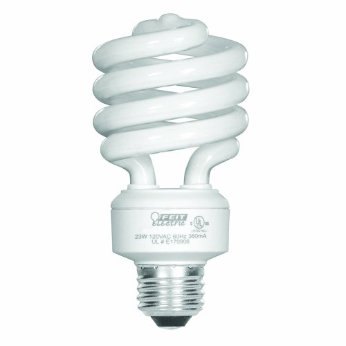 Feit Electric Compact Fluorescent - Feit Electric 23-Watt Compact Fluorescent Mini Twist (100-Watt Incandescent Equivalent), Daylight