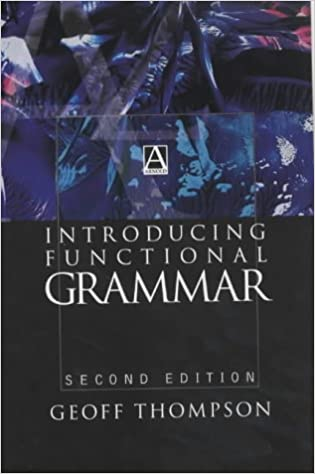 an introduction to functional grammar m.a.k halliday pdf