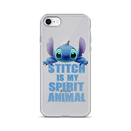 iPhone 7/8 Pure Clear Case Cases Cover Stitch is My Spirit Lilo and Stitch TV Cartoon Series Animal Gift]()
