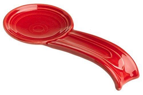 Fiesta 8-Inch Spoon Rest, Scarlet by Homer Laughlin
