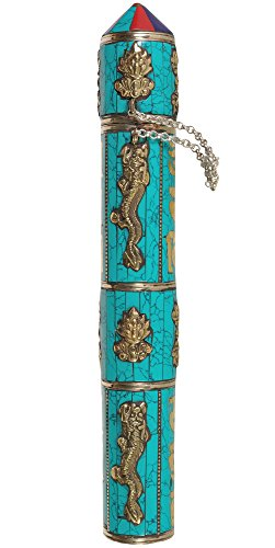 Exotic-India-ZCE22-Large-Size-Tibetan-Buddhist-Incense-Sticks-Holder
