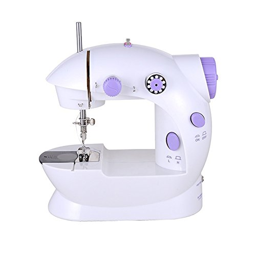 Mini Portable Sewing Machine Multi-functional Powered with Battery or AC 220V Power 50Hz