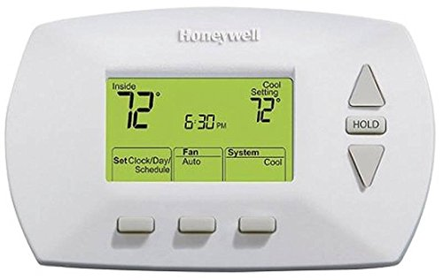 Honeywell Home/Bldg Center RTH6350D1000/E1 Deluxe 5/2 Day Programmable Thermostat - Quantity 1