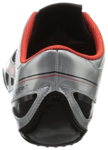 ASICS Men's Sonicsprint Track Shoe,Silver/Fire Red/Black,8 M US by ASICS (Image #2)