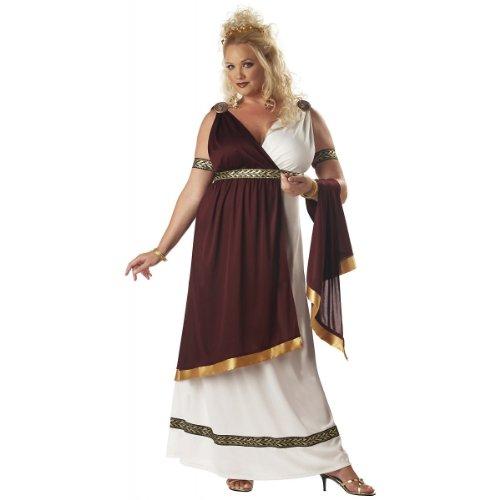 [Roman Empress Costume - Plus Size 2X - Dress Size 18-20] (Roman Empire Costumes)