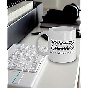 Xoloitzcuintli Girl Mug - Xoloitzcuintlis not Diamonds Are A Girl's Best Friend - Xoloitzcuintli Gift - Xoloitzcuintli Mom - Gift Ideas 4