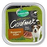 natural balance kangaroo - Nature's Gift Wet Dog Food Gourmet Kangaroo Fillet 100 g. x 3 packs.