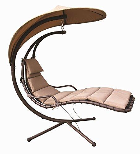 Wonderful Amazon.com : Naturefun Hammock Chair With Arc Stand / Adjustable Canopy,  Beige : Garden U0026 Outdoor