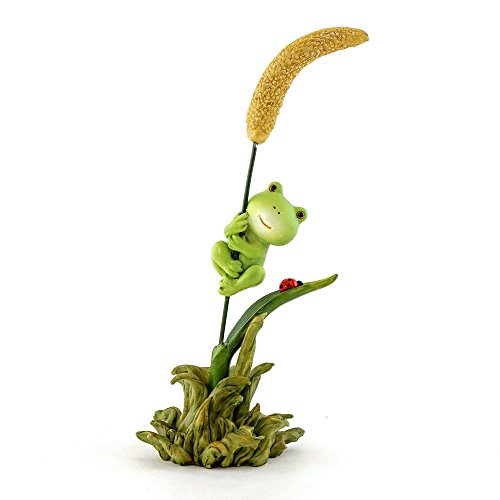 Top Collection Poko The Frog Hanging on Tight 6-Inch Mini Collectible -