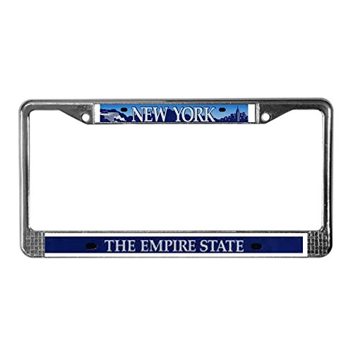 nyc license plate frame - 3