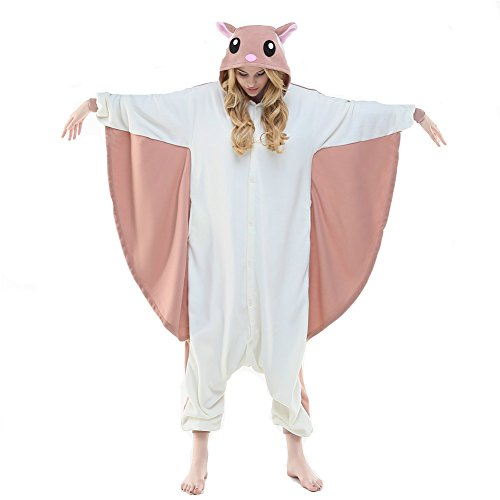 [Flying Squirrel costume unisex adult cosplay homewear (M, Flying Squirrel)] (Squirrel Halloween Costume)