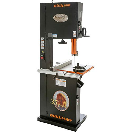 Grizzly G0513ANV 2 HP Bandsaw Anniversary Edition