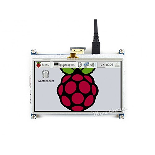 Waveshare 4.3inch HDMI LCD Resistive Touch Screen 480272 High Resolution Display Designed for Raspberry Pi Zero/A+/B/ B+/2 B/3 Model B