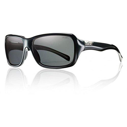 Smith Optics Brooklyn Sunglass, Black / Gray Polarized - Brooklyn Sunglasses