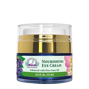 Montana Emu Ranch – Nourishing Eye Cream 0.5 Ounce – Enhanced with Pure Emu Oil