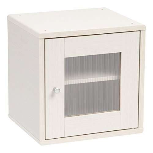 IRIS USA 596425 Wood Storage Cube, White Pine by IRIS USA, Inc.
