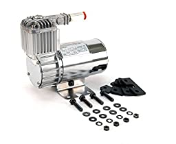 Viair 10016 100C Chrome Compressor Kit with Omega Style Mounting Bracket