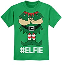 TeeStars - Elf Suit Funny Elfie Christmas Youth Kids T-Shirt