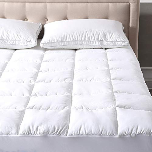 - Classic Brands Defend-A-Bed Ultimate Alternative Down Waterproof Baffle Box Quilted Mattress Protector, Twin