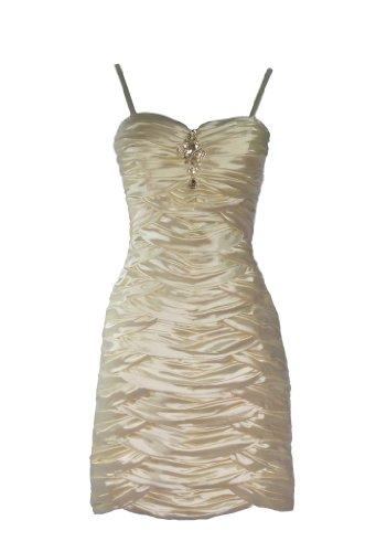 Alivila Y Fashion Damen Kleid Cremefarben rRrnq8Cw