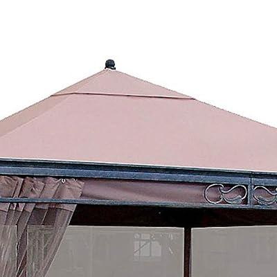Garden Winds JRA 12 x 12 Gazebo Replacement Canopy Top Cover and Netting - RipLock 350: Garden & Outdoor