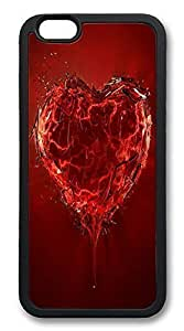 ACESR Broken Heart Customize iphone 4 4s Case TPU Back Cover Case for Apple iphone 4 4sinch Black