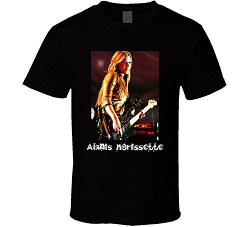 T-Shirt Bandit Alanis Morissette Singer T Shirt L Black