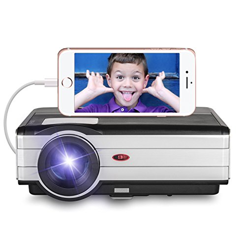 """EUG Upgraded Video Projector with HDMI, 3500 Lumens 200"""" ..."""