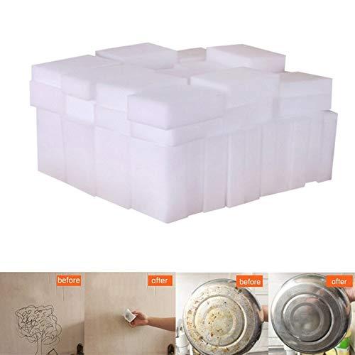 20pcs White Magic Sponge Melamine Sponge Eraser Cleaner Cleaning Sponges for Kitchen Bathroom Cleaning Tools 100X60X20mm