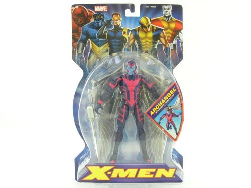 Marvel X-Men 6 Archangel Action Figure with Missile Firing Action