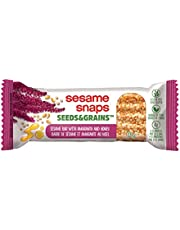 Sesame Snaps, Seeds & Grains, Healthy Snack, Delicious & Nutritious