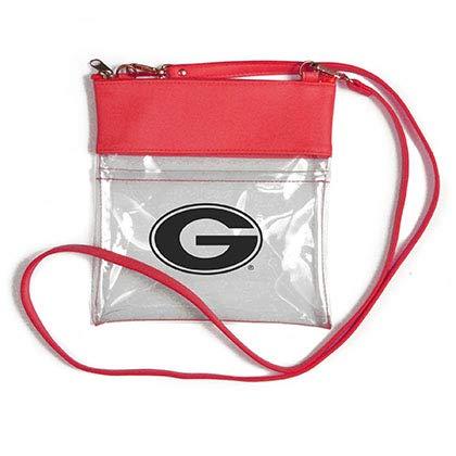 Desden Georgia Bulldogs Clear Gameday Crossbody Bag (Day Game Purse University)