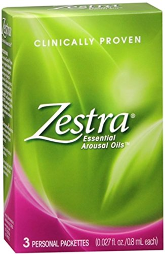 Zestra Essential Arousal Oils For Women 3 Packets, 1-each...