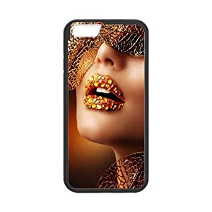 iPhone 6 Plus 5.5 Inch Cell Phone Case Black Luxury Gold NKG Custom Protective Case