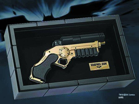 Batman The Dark Knight Grapnel Gun By The Noble Collection