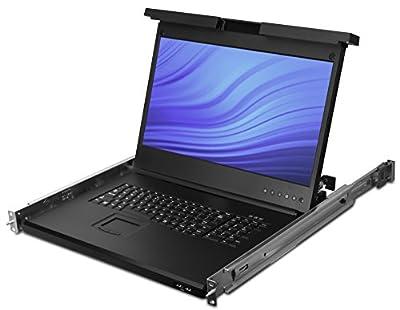 Avocent LRA185KMM-001 Lra 18.5 LCD Console, USB Kb, 2USB Pass-US Intl Eng