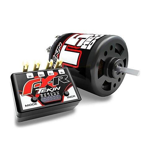 Crawler Motor Combo - Tekin FXR ESC Crawler Combo 55T HD Brushed Motor TT2107