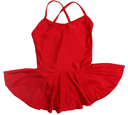 Baby Girls Princess Camisole Leotard Dacne Costume Stretchable for Ballet Class Lesson Skirt XXL (Dacne Costumes)