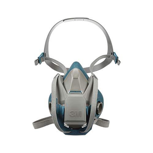 3M Personal Protective Equipment 51131494904 6502QL Rugged Comfort Quick Latch Half Facepiece Reusable Respirator, Medium