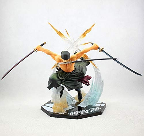 (Anime - Roronoa Zoro, Pirate Hunter, One Piece Anime Action Figure)