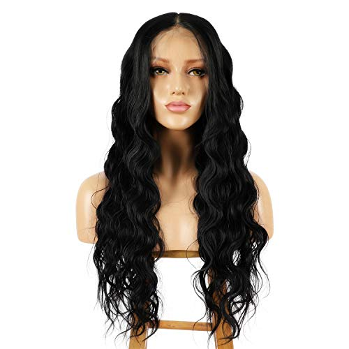 ALICE 13x6 Lace Front Black Wig, 22