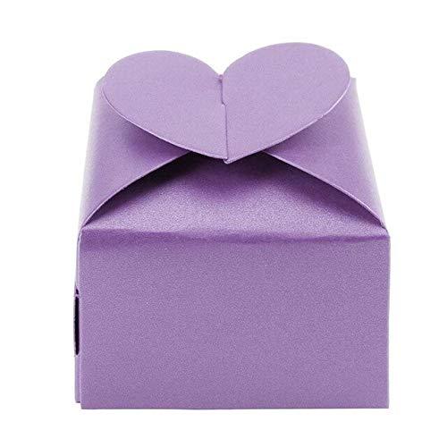 VDV 20 Piezas/Set clásico corazón Cuadrado Caja de Papel de ...