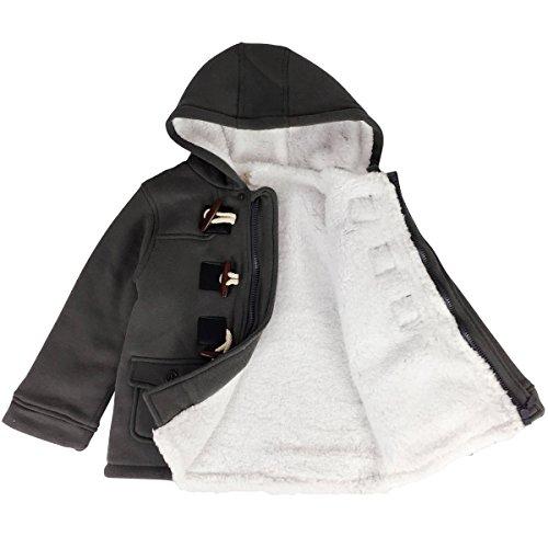 8765449b73b2 Jastore Unisex Baby Boys Girls Winter Warm Hooded Coat Children ...