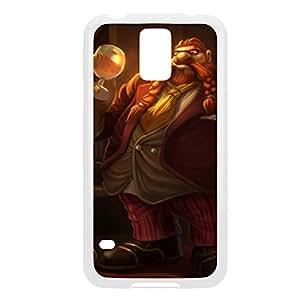 Gragas-004 League of Legends LoL case cover Ipod Touch 5 - Plastic White
